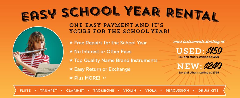 School Year Rental